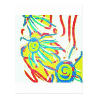 #abstract del #art postales
