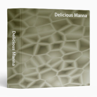 Abstract - Delicious Manna (1.5in) 3 Ring Binder