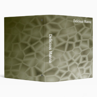 Abstract - Delicious Manna (1in) Binder