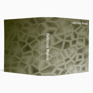 Abstract - Delicious Manna (2.0in) 3 Ring Binder