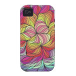 Abstract Design 12 Vibe iPhone 4 Case