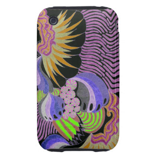 Abstract Design 19 Tough iPhone 3 Cover