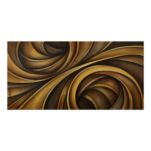 Abstract design 1 poster