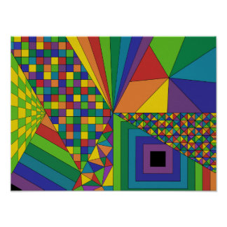 Abstract Design 2 Poster