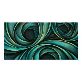 Abstract design 4 poster