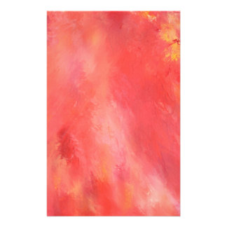 Abstract Design and Original Painting Stationery