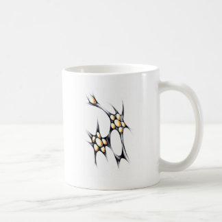 Abstract design art coffee mug