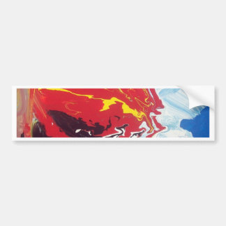 abstract Design Bumper Stickers