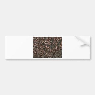 abstract design bumper sticker