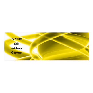 Abstract Design Business Cards