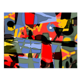 Abstract design By Albruno Postcard