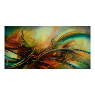 Abstract design c456 poster