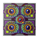 Abstract Design Ceramic Tile