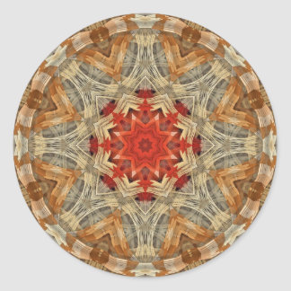 Abstract  Design Classic Round Sticker