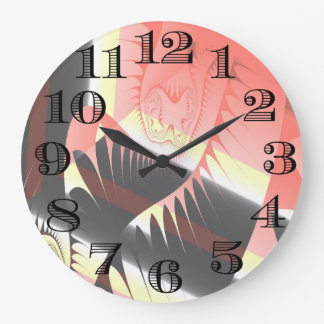 Abstract Design Clock