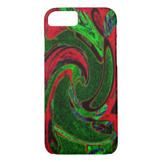 ABSTRACT DESIGN- COLOP U UCHKIN TWO iPhone 8/7 CASE