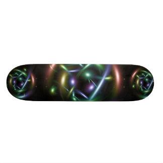 Abstract design custom skate board