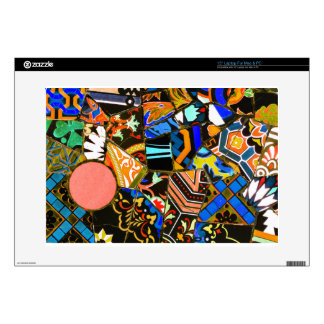 """Abstract design decal for 15"""" laptop"""