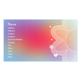 Abstract Design Double-Sided Standard Business Cards (Pack Of 100)