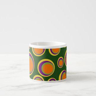 Abstract Design Espresso Cup