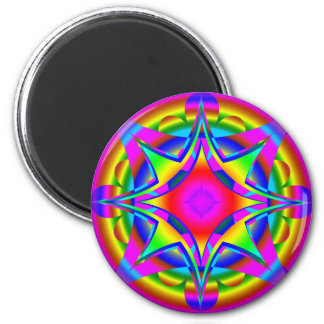 Abstract Design Fractal Geometric Magnet