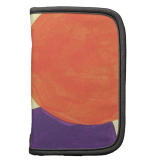 Abstract Design from Acrylic Painting Folio Planners