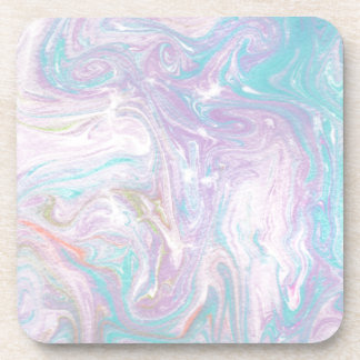 Abstract Design from Original Painting Beverage Coaster