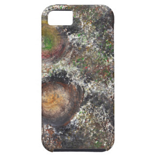 Abstract Design from Original Painting iPhone 5 Cases