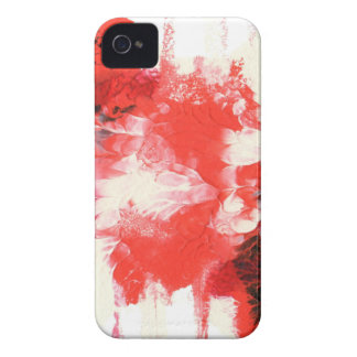 Abstract Design from Original Painting iPhone 4 Case-Mate Case
