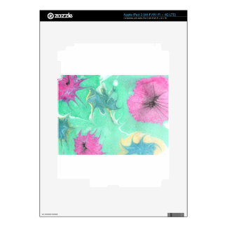 Abstract Design from Original Painting Decal For iPad 3