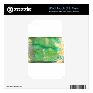 Abstract Design from Original Painting Decal For iPod Touch 4G