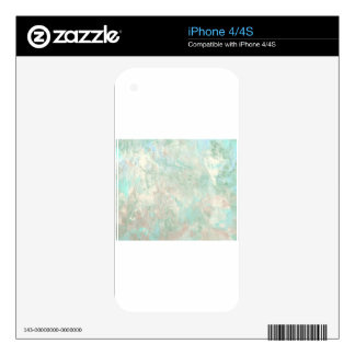 Abstract Design from Original Painting Decal For The iPhone 4S