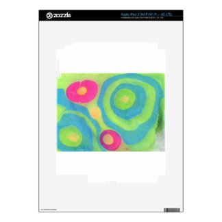 Abstract Design from Original Painting Decals For iPad 3