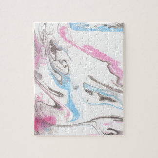 Abstract Design from Original Painting Jigsaw Puzzle