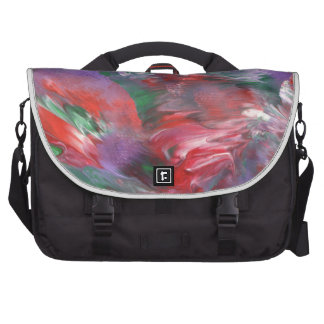 Abstract Design from Original Painting Laptop Bags