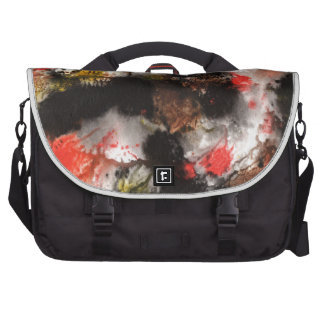Abstract Design from Original Painting Laptop Bag