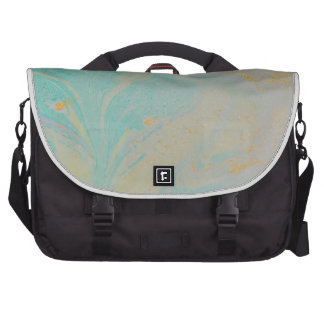 Abstract Design from Original Painting Laptop Messenger Bag