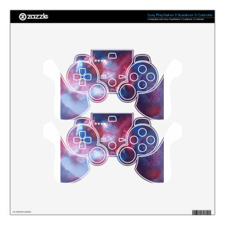 Abstract Design from Original Painting PS3 Controller Decal