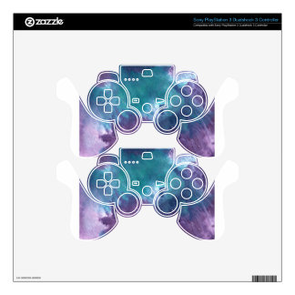 Abstract Design from Original Painting PS3 Controller Skin