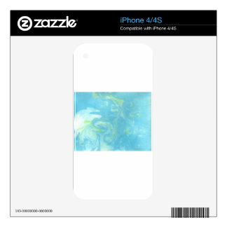 Abstract Design from Original Painting Skin For The iPhone 4S