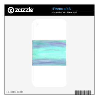 Abstract Design from Original Painting Decals For The iPhone 4S