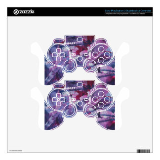 Abstract Design from Original Painting Skin For PS3 Controller