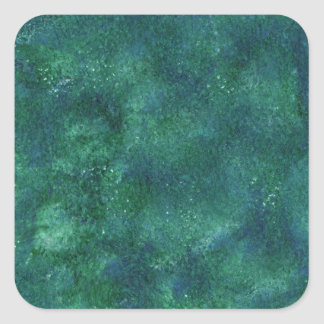 Abstract Design from Original Painting Square Sticker