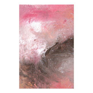 Abstract Design from Original Painting Stationery