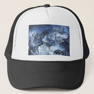 Abstract Design from Original Painting Trucker Hat
