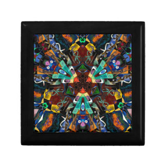 Abstract Design Full of Colors Jewelry Boxes