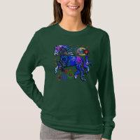 Abstract Design Horse T-Shirt