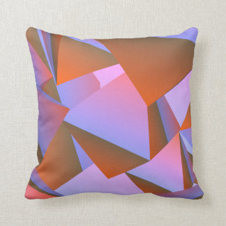 abstract design hotels throw pillow