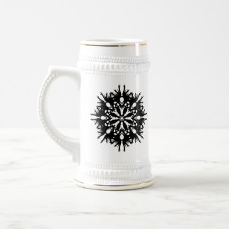 Abstract Design in Black Coffee Mug