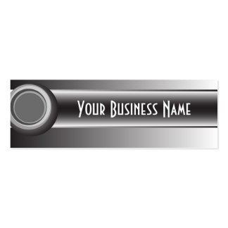 Abstract Design in Black, White and Grey Business Cards